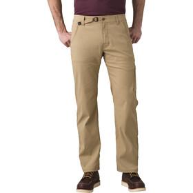 "Prana Stretch Zion Pantalon 32"" Homme, beige"